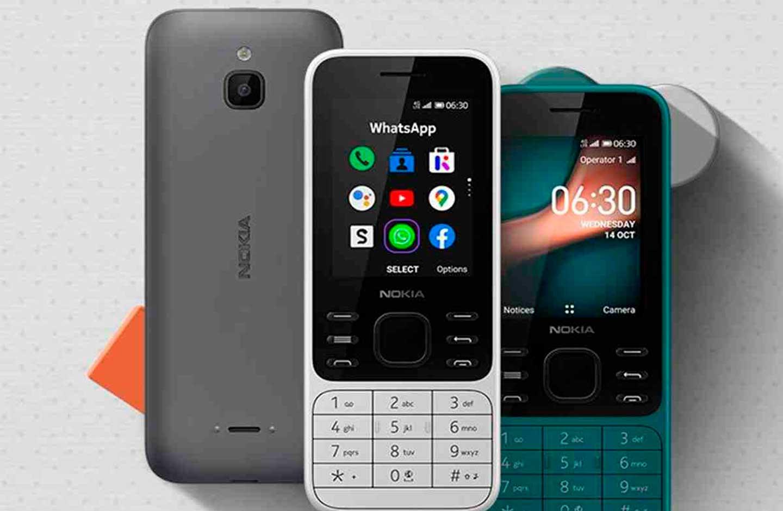 Celulares 'flecha' marca Nokia