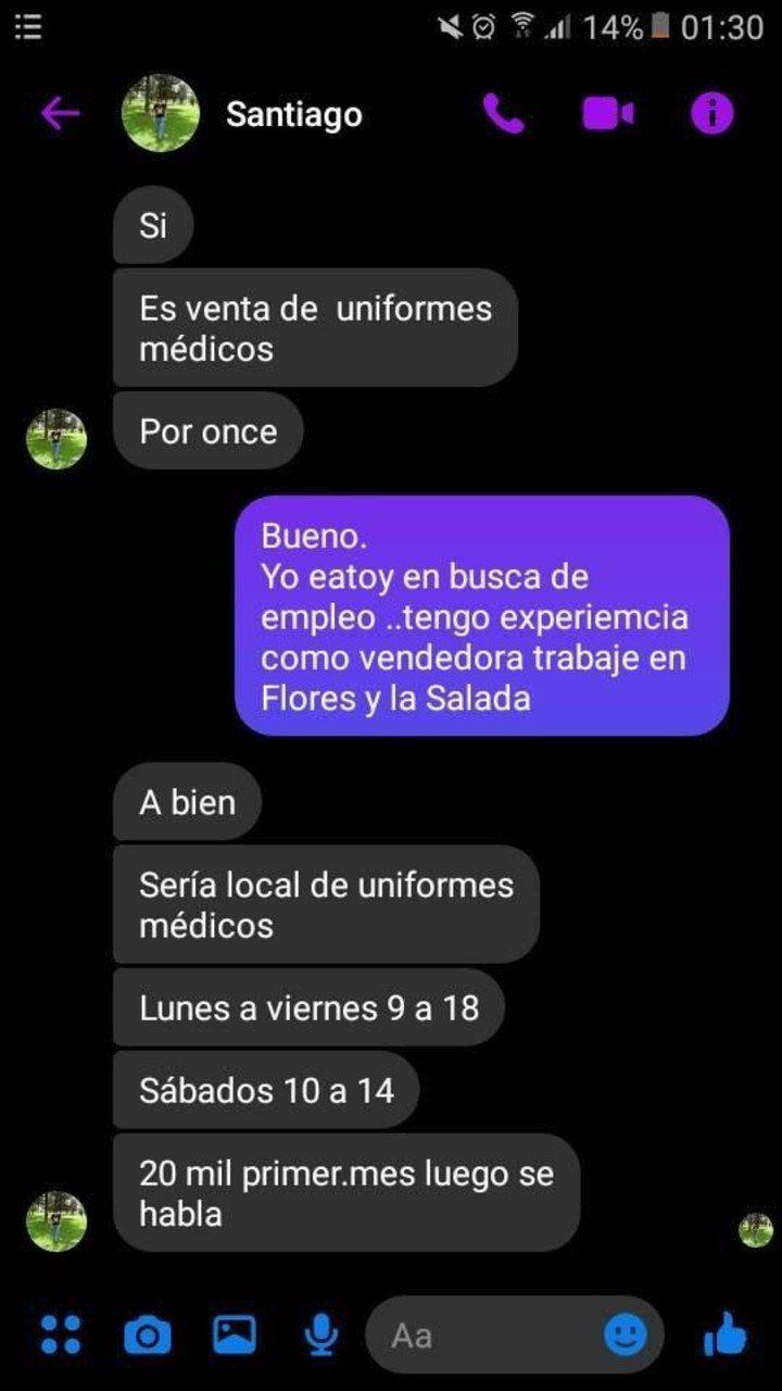 Conversación entre Garzón y su víctima