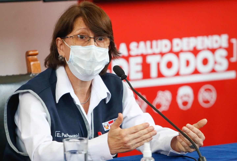 Pilar Mazzetti, ministra de Salud salpicada en VacunaGate