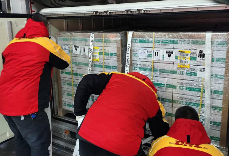 Vacunas de Sinopharm llegan a Perú