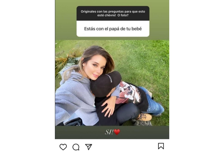 Alejandra Buitrago y su actual pareja