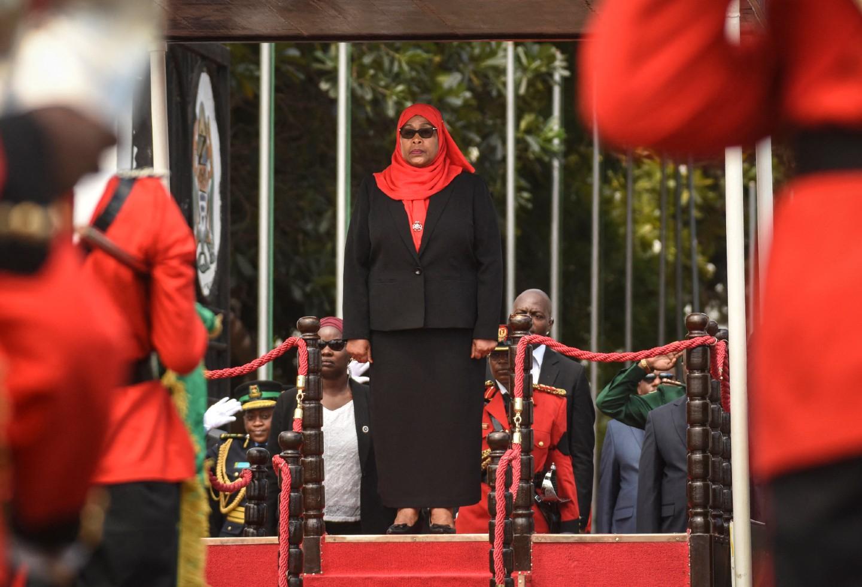 Samia Suluhu, nueva presidenta de Tanzania