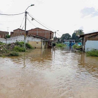 Algunas viviendas han presentado inundaciones
