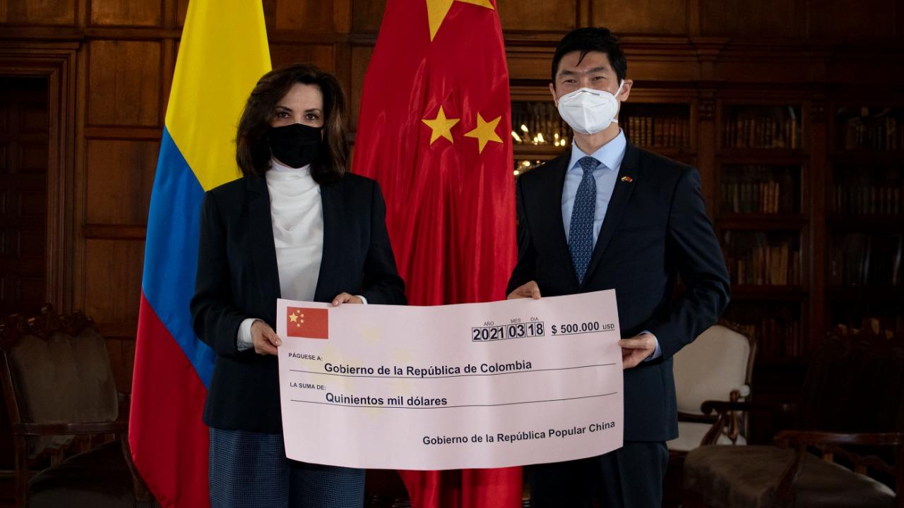 China donó 500 mil dólares para la reconstrucción de San Andrés, Providencia y Santa Catalina