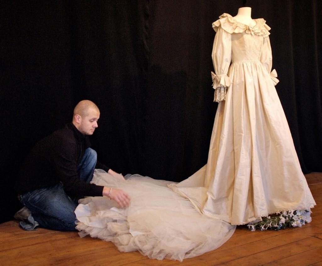 Vestido de novia de Lady Diana