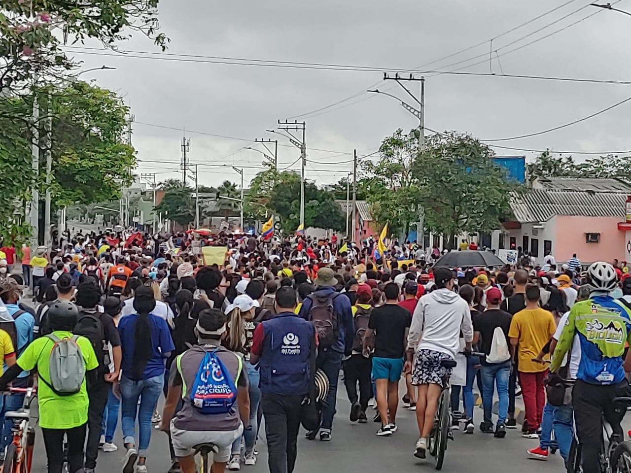 Manifestaciones Barranquilla.