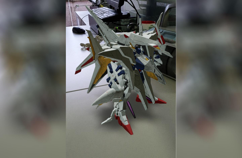 Gundam en realidad aumentada de Google