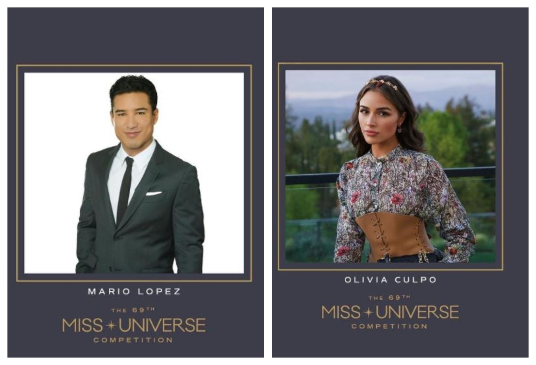 Mario López y Olivia Culpo presentarán la ceremonia de Miss Universo el 16 de mayo.