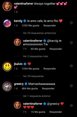 Instagram Valentina Ferrer