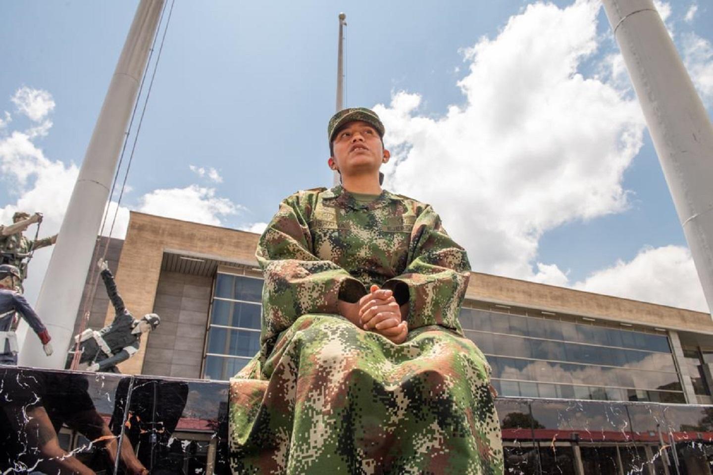 Julieth Pushaina Epiayú, primera mujer wayúu en el Ejército