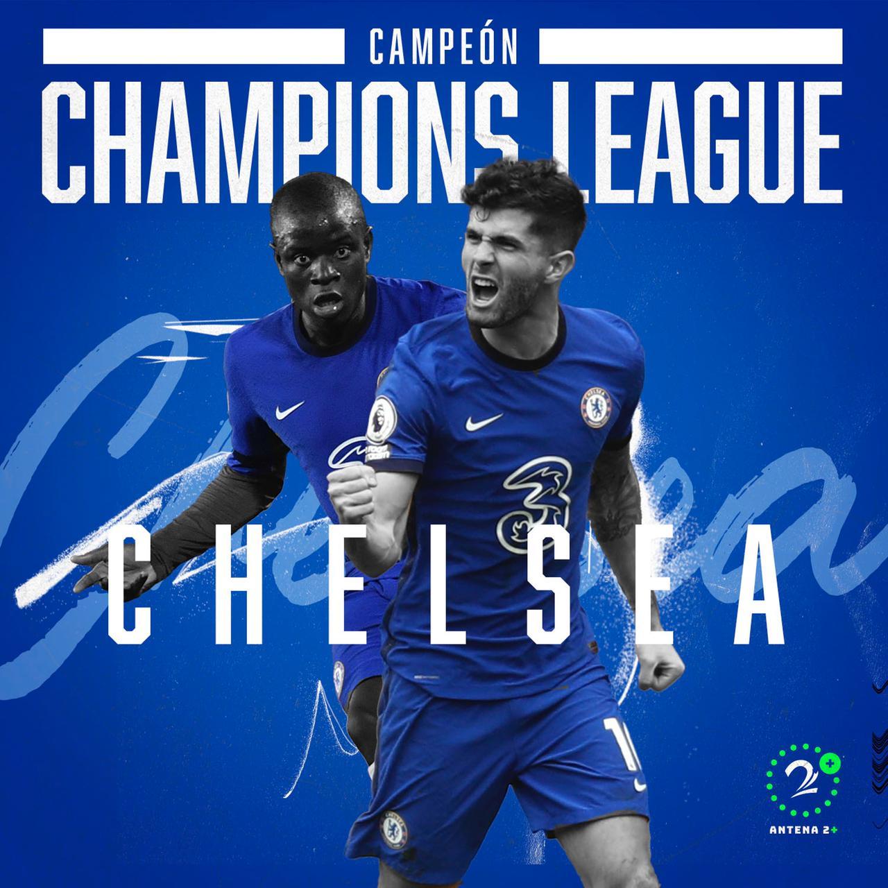 Chelsea doblegó a Manchester City y es campeón de Champions League