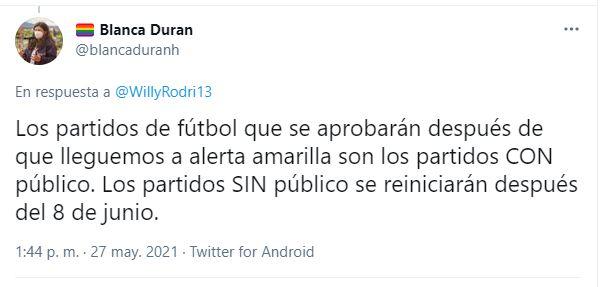 Blanca Durán IDRD