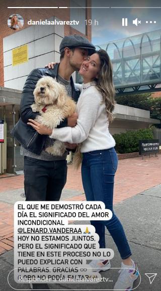 Historias de Instagram, Daniella Álvarez