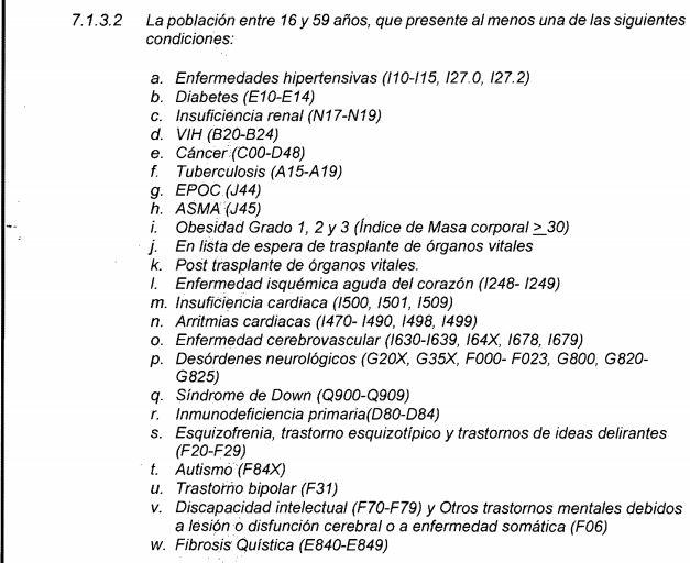 Foto decreto Ajustes al Plan de Vacunación