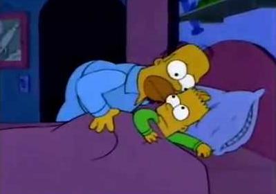 El coco- Homero Simpson