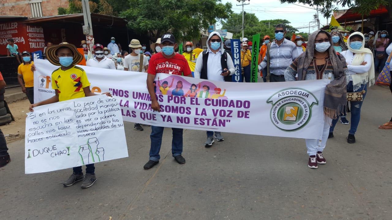 Marchas Riohacha.