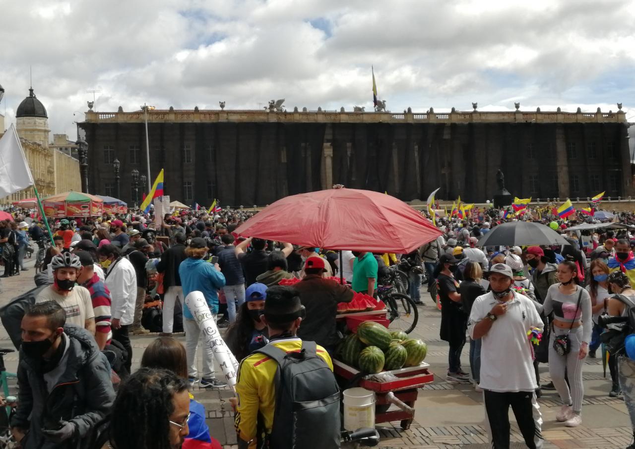 Protestas Bogotá
