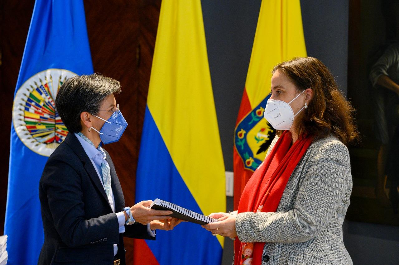 Claudia López y la CIDH