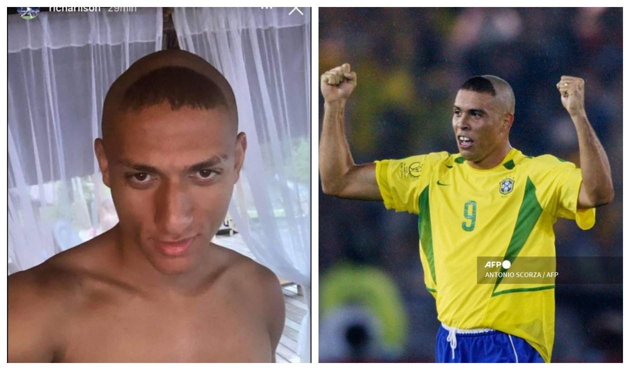 Richarlison y Ronaldo