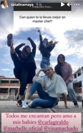 Catalina Maya - Historias de Instagram