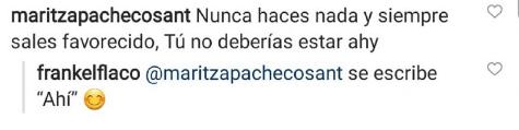 Comentario de Frank Martínez