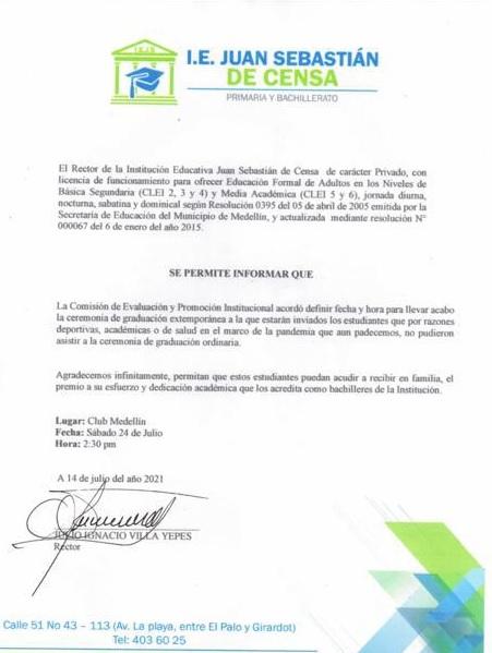 Diploma de Miguel Borja