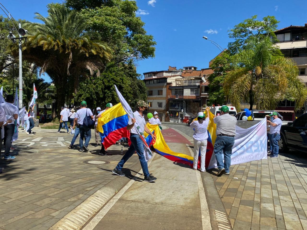 Manifestaciones 20 de julio en Colombia