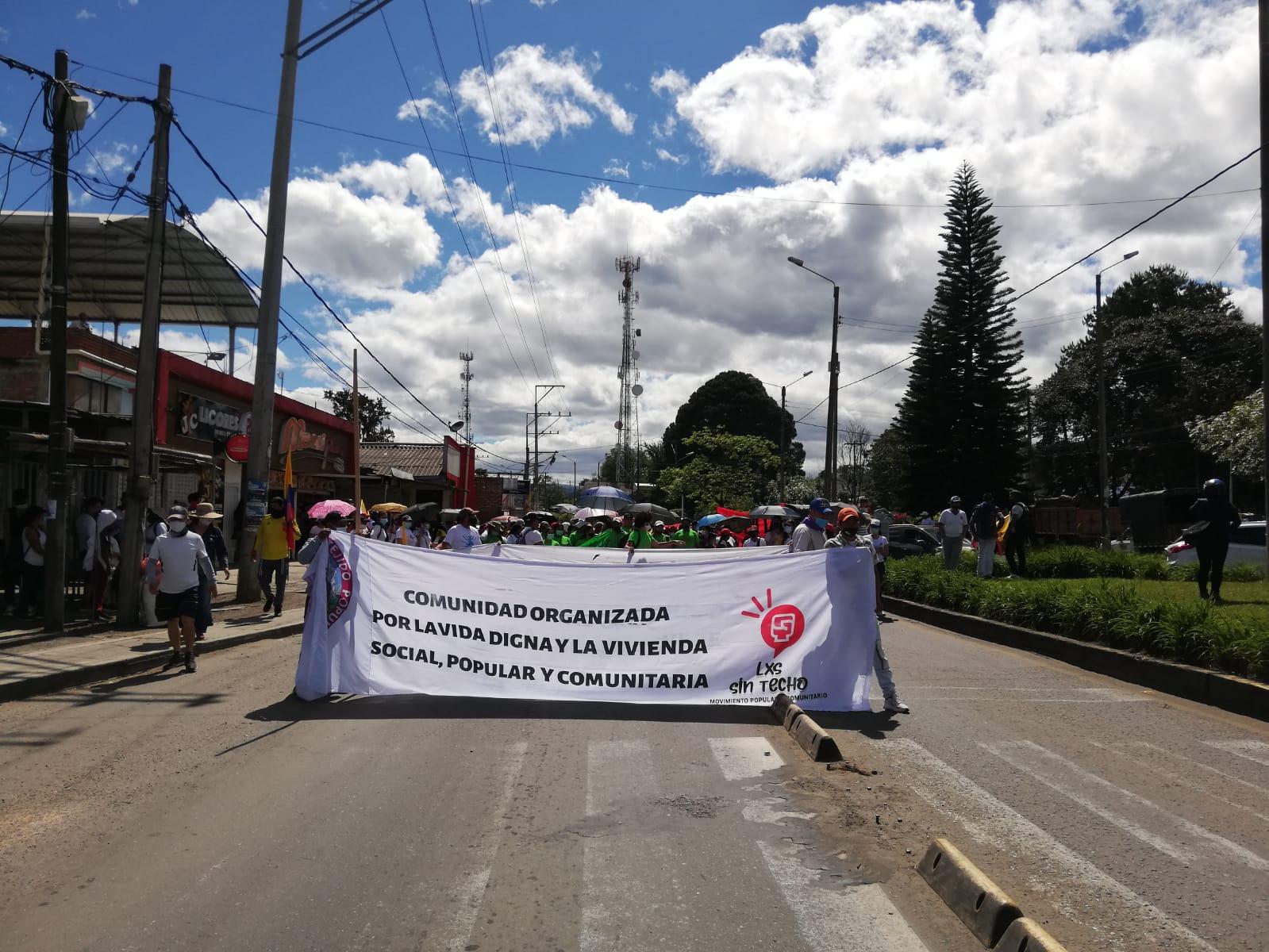 Manifestaciones en Popayán 20 de julio.