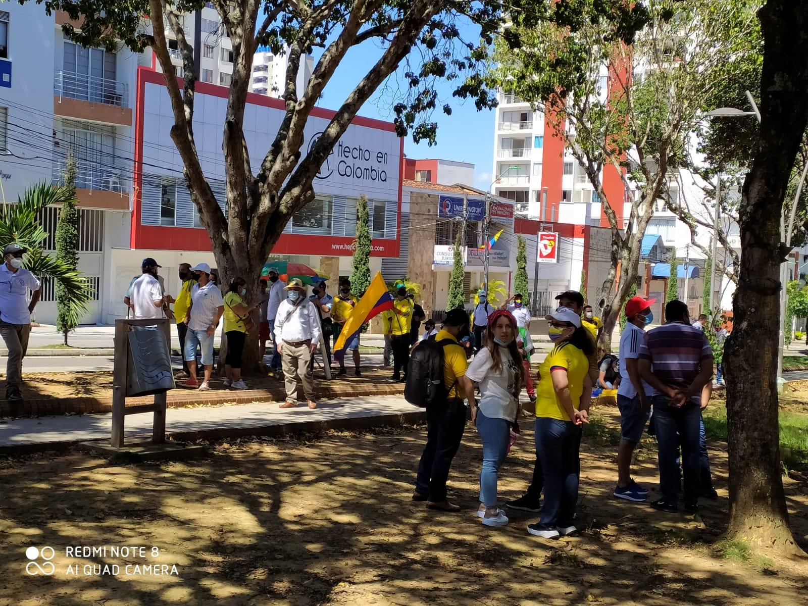 Manifestaciones del 20 de julio en Bucaramanga.