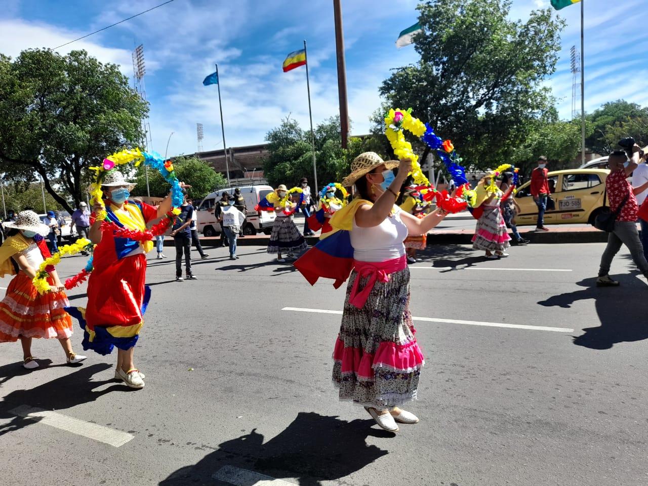 Manifestaciones del 20 de julio en Cúcuta.