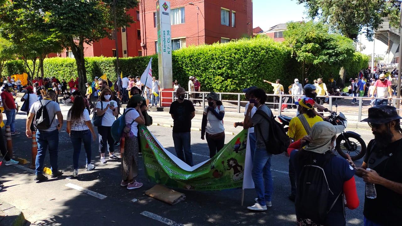Manifestaciones en Pereira 20 de julio.