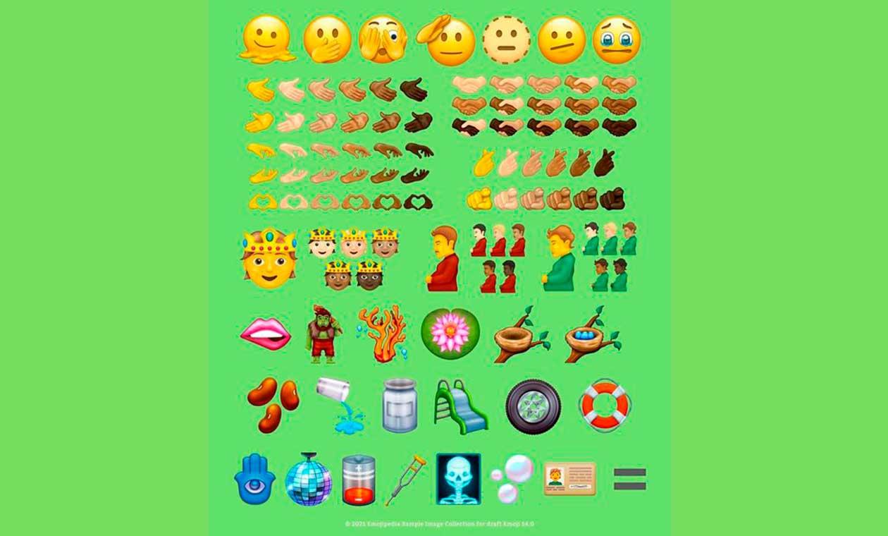 Nuevos emoji 2021-2022