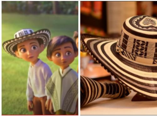 Sombrero vueltiao en 'Encanto'