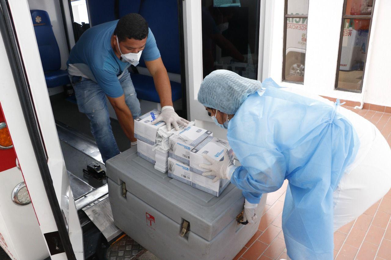 Vacunas contra el covid-19 en Santander