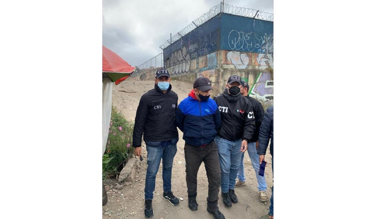 Fue capturado en Soacha (Cundinamarca) Nilson Díaz, investigado por la desaparición de Sara Sofía