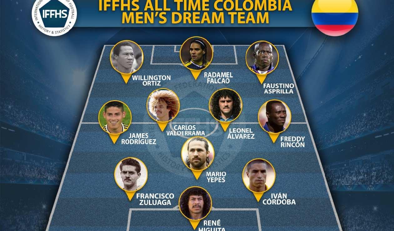Equipo ideal de Colombia en la historia