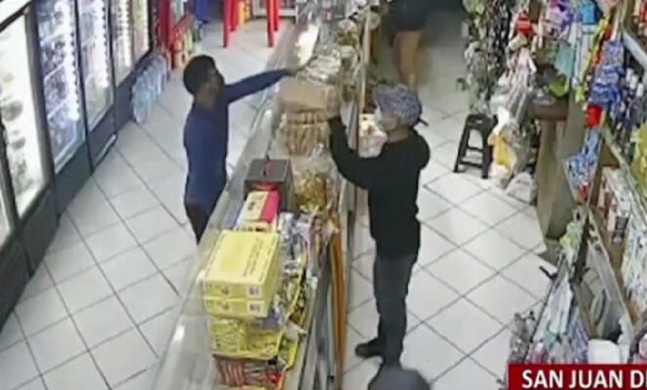 Ladrones atracan panadería