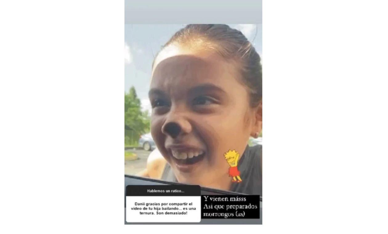 Daniela Ospina y Salomé: modelo responde a críticas al baile de hija