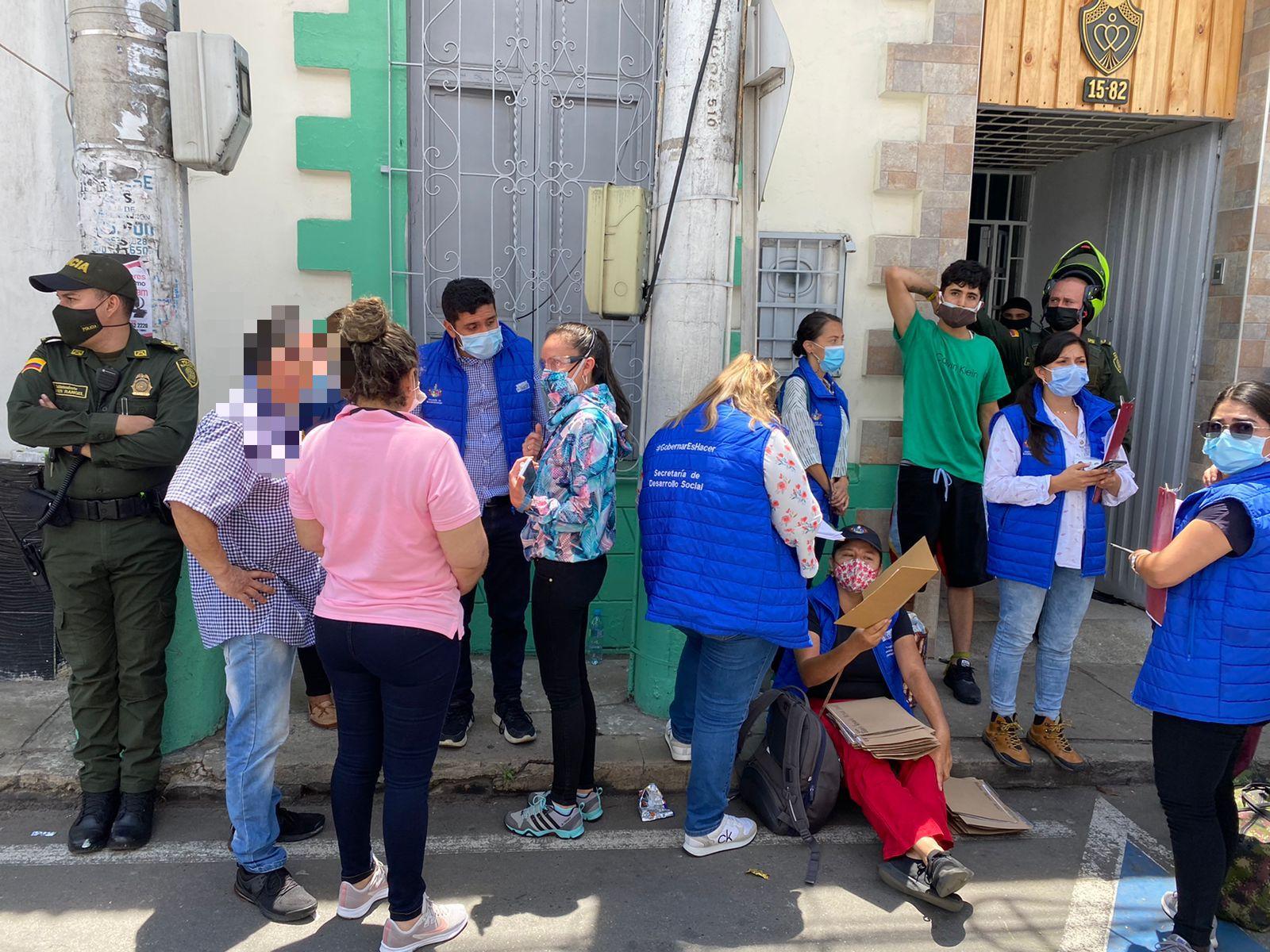 Las personas fueron evacuadas de la fundación y las autoridades darán inicio a las respectivas investigaciones.