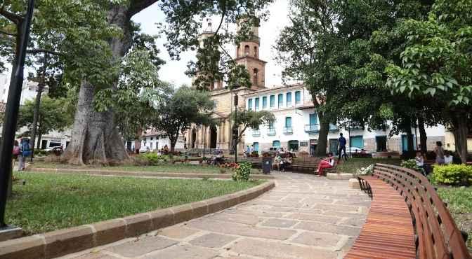 Parque la liberta San Gil