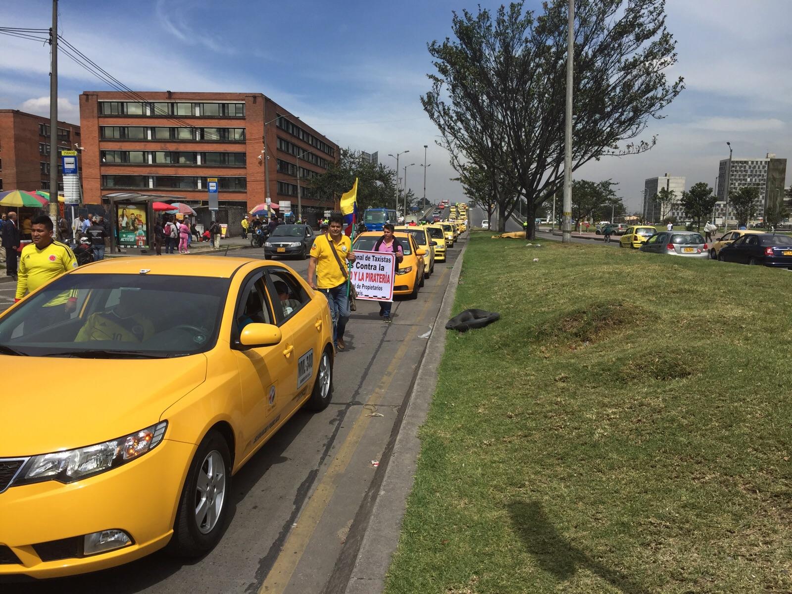 Taxistas Uber RCN 1