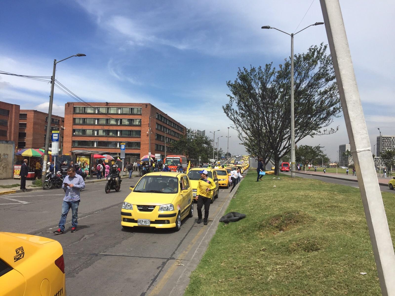 Taxistas Uber RCN
