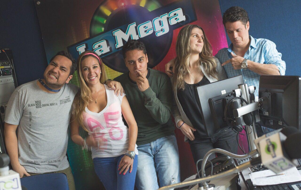 Fotos de los presentadores de la mega 37