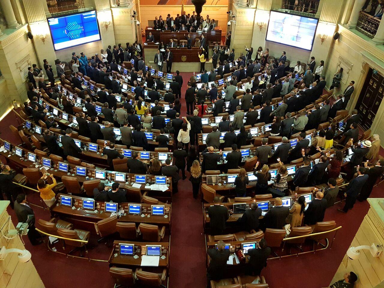 Resultado de imagen para congreso de la republica de colombia