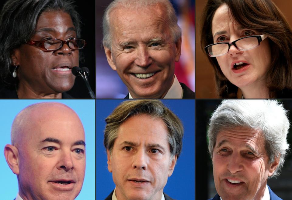 Gabinete de Joe Biden para nuevo gobierno de EE.UU.