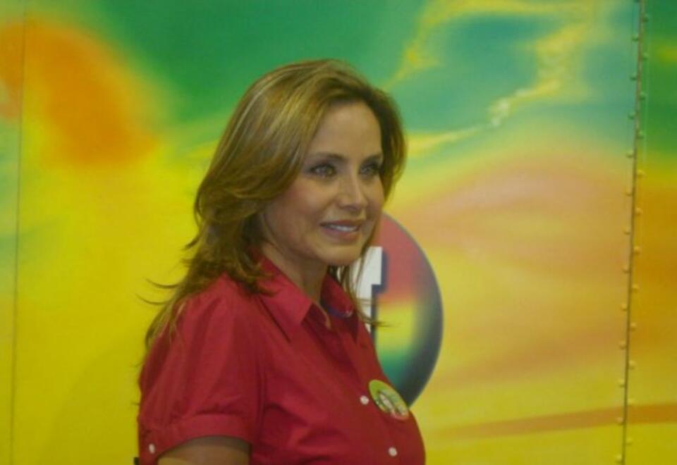 Lucero Cortés, actriz colombiana