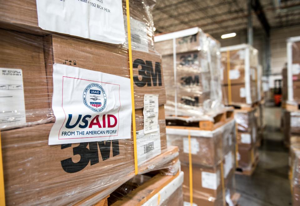 Donaciones USAID