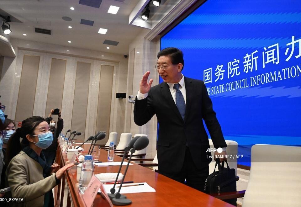 Viceministro de Sanidad chino, Zeng Yixin, anuncia la vacuna