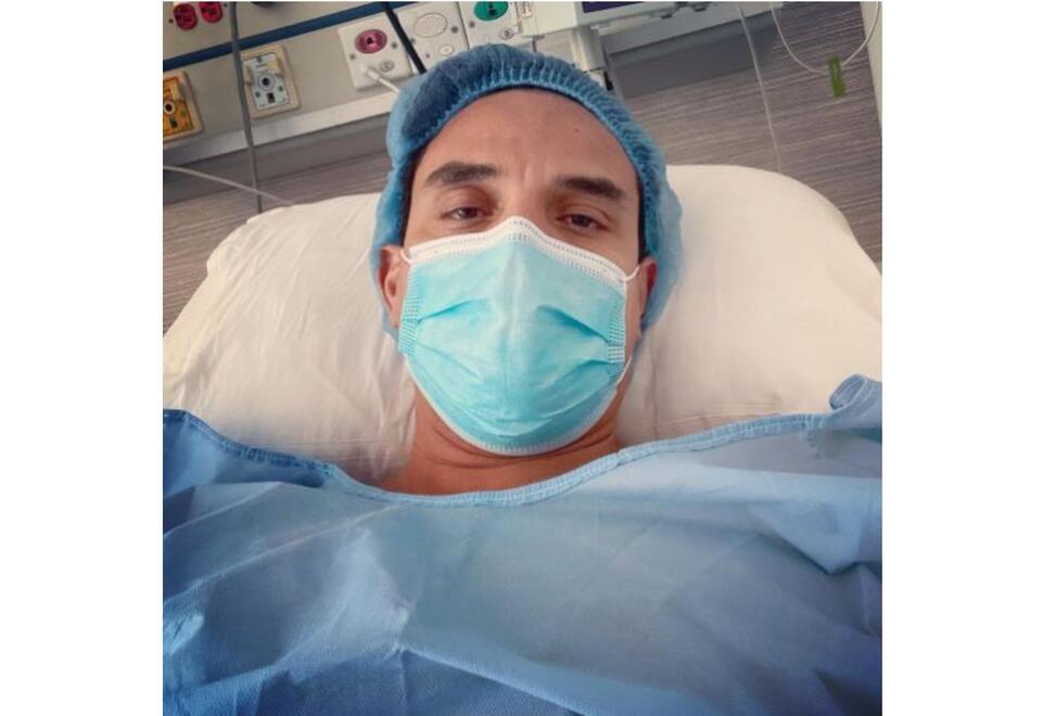 Silvestre Dangond hospitalizado en Barranquilla