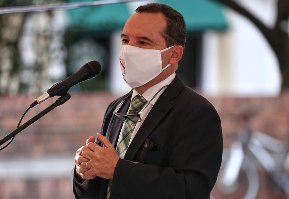 Alejandro Gómez, secretario de Salud de Bogotá